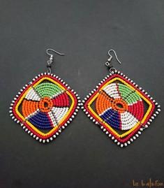 Boucles d'oreilles Massaï