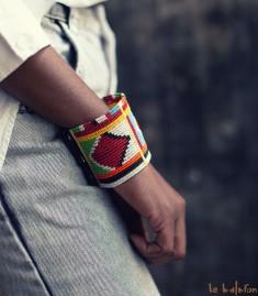 More about Bracelet ethnique Massaï