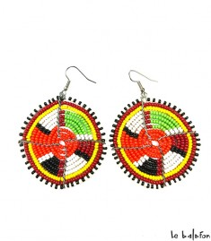 More about Boucles d'oreilles Massaï